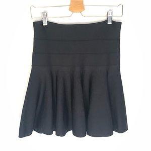 Robert Rodriguez Black Mini Skirt Fit Flare S